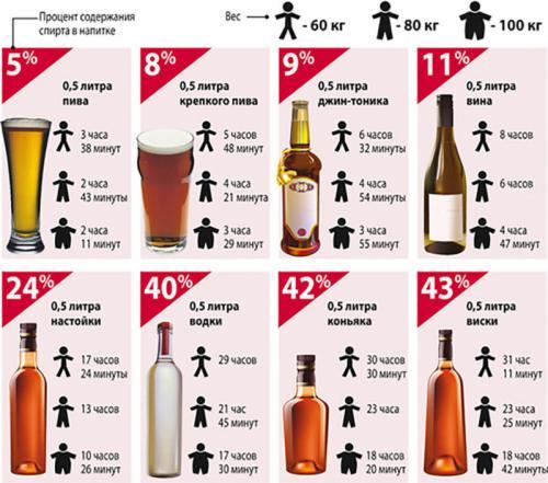 Через сколько выветривается 0 5 пива. Сколько времени выходит пиво из организма?