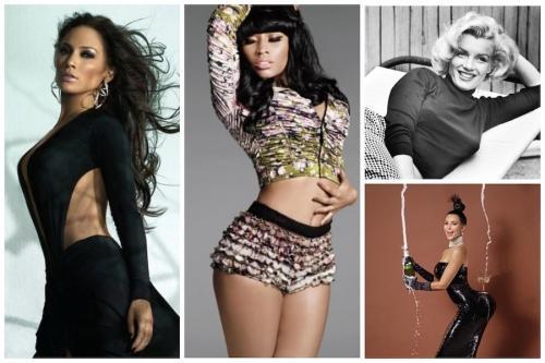 Самые лучшие фигуры женщин в мире. Самые красивые женские фигуры в истории